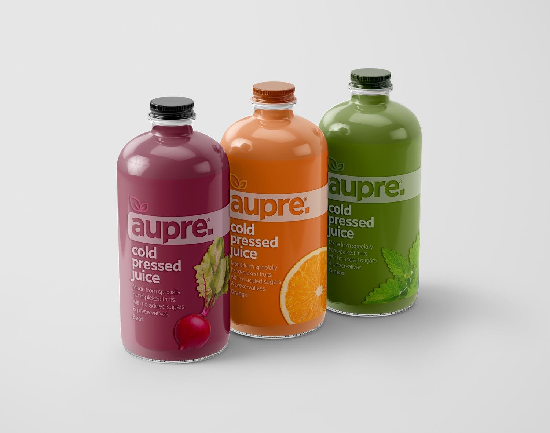 aupre-juice-bottles