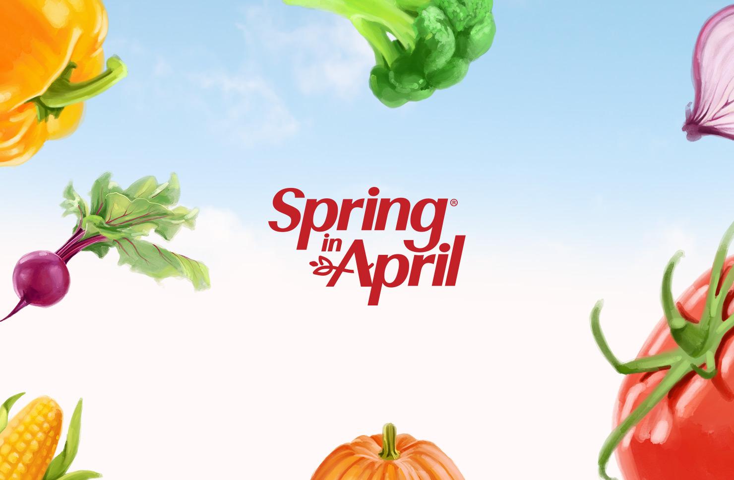 Spring in April